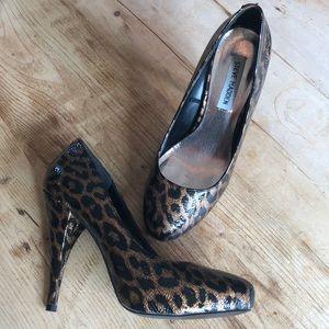 Steve Madden Cheetah Leopard Print Pumps